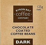 Byron Bay Coffee Company Dark Chocolate Coated Coffee Beans, 125g