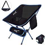 NiceCアウトドアチェア キャンプチェア超軽量折り畳耐荷重みリュック2つの収納袋コンパクト型と大型アウトドア、キャンプ、バーベキュー、ビーチ、旅行、ピクニック