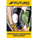 Futuro knee braces , Black, 1ct