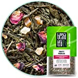 Tiesta Tea - Fruity Pebbles, Loose Leaf Strawberry Pineapple Green Tea, Medium Caffeine, Hot & Iced Tea, 1.6 oz Pouch - 25 Cu