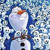 ディズニー - アナと雪の女王 オラフのちいさなおとうとたち iPad壁紙 165505