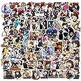 100PCS Kikis Delivery Service Stickers Studio Ghibli Stickers Hayao Miyazaki Anime Stickers Waterproof Vinyl Stickers Skatebo