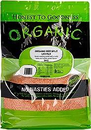 Honest to Goodness Organic Red Split Lentils, 5kg