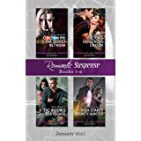 Suspense Box Set Jan 2021/Colton 911: The Secret Network/Colton's Dangerous Liaison/The Widow's Bodyguard/High-Stakes Bounty