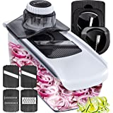 Fullstar Mandoline Slicer Spiralizer Vegetable Slicer - Food Slicer 6-in-1 Vegetable Spiralizer - Potato Slicer Zoodle Maker