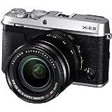 FUJIFILM ミラーレス一眼カメラ X-E3レンズキットシルバー X-E3LK-S