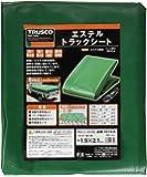 TRUSCO(トラスコ) エステルトラックシート 軽トラ用 1.9m×2.1m TETS-K