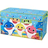 Baby Shark Collapsible Children's Toy Storage Trunk, Durable with Lid