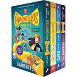 Mr. Lemoncello's 4-Book Boxed Set and Poster