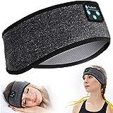 Sleep Headphones Bluetooth, Perytong Sleeping Headphones Headband - Soft Elastic Comfortable Headband Headphones, Gifts for M