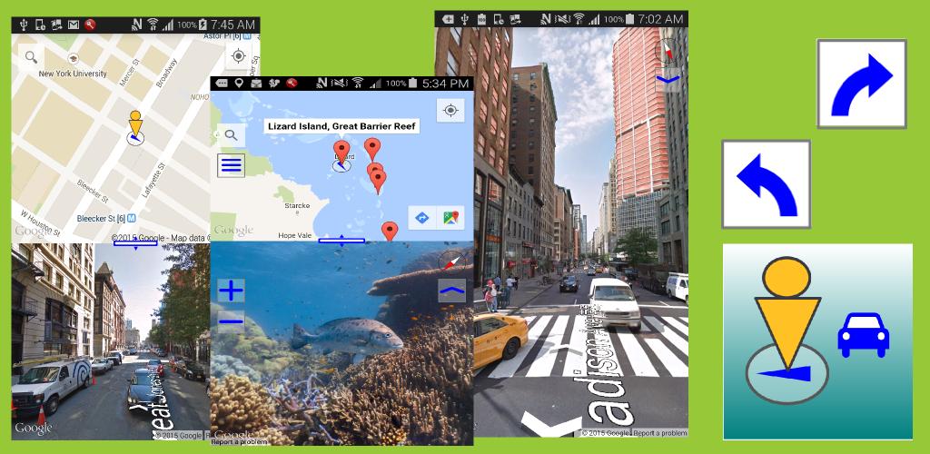 ストリートビュー プラス - 便利な地図アプリ