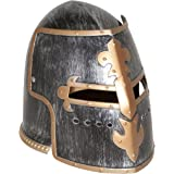 Jacobson Hat Company Men's Antiqued Pewter Knight Helmet