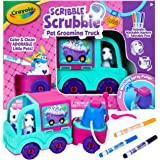 Crayola Scribble Scrubbie Pets Grooming Truck, Toy Pet Playset,  Kids, Age 3, 4, 5, 6