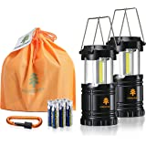 Forester+ LED Lantern (2-Pack), Super Bright COB LED, Great for Camping, Hiking, Survival Kit, Emergency Light, Power Outage