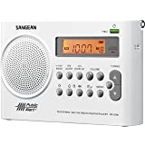 Sangean PR-D9W AM/FM Weather Alert Rechargeable Portable Radio