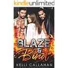 Blaze & Bind: A MFM Firefighter Romance (Surrender to Them Book 10)