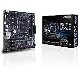 ASUS PRIME A320M-K AMD AM4 uATX Motherboard, LED lighting, DDR4 3200MHz, 32Gb/s M.2, HDMI, SATA 6Gb/s, USB 3.0