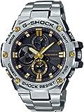 [カシオ] 腕時計 ジーショック G-STEEL スマートフォン リンク GST-B100D-1A9JF メンズ シルバ…