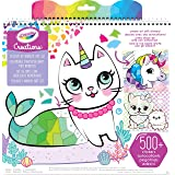 CRAYOLA CY04-6229 Creations Sticker by Number Set, Design Colourful Posters, Includes Stickers, Great for Creative Kids!