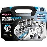 Channellock 39100 Ultra Access Socket Set, 16 Piece