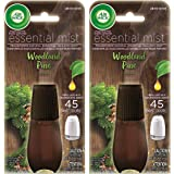 Air Wick Essential Mist Refill - Limited Edition Holiday Collection - Woodland Pine - Net Wt. 0.67 FL OZ (20 mL) Per Refill -