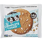 Lenny & Larry's The Complete Cookie - White Chocolate Macadamia, 12 Single Serve Cookies