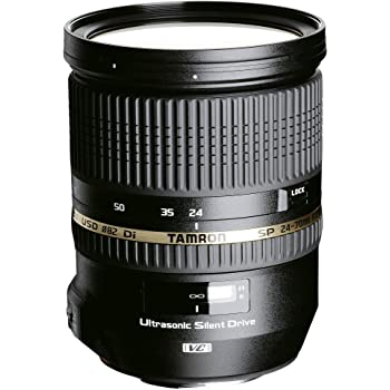 TAMRON 大口径標準ズームレンズ SP 24-70mm F2.8 Di VC USD ニコン用 フルサイズ対応 A007N