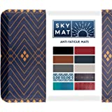 Anti Fatigue Comfort Floor Mat by Sky Mats -Commercial Grade Quality Perfect for Standup Desks, Kitchens, and Garages - Relie