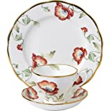 Royal Albert 100 Years 1970 Teacup, Saucer and Plate Set