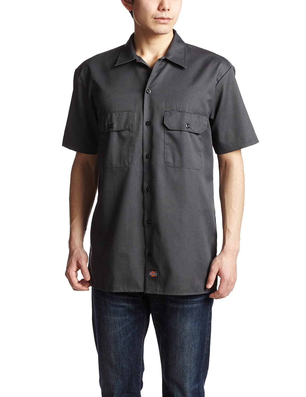 ディッキーズ 半袖 ワークシャツ