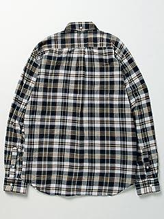 Madras Buttondown Shirt 11-11-3186-139: Navy