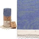 Smyrna Vintage Series Original Turkish Beach Towel | 100% Cotton, Prewashed, 37 x 71 Inches | Turkish Bath Towel for SPA, Bea