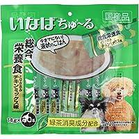 いなば 犬用おやつ ちゅ~る 総合栄養食 とりささみ チキンミックス味 14g×20本入