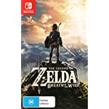The Legend of Zelda Breath of the Wild - Nintendo Switch