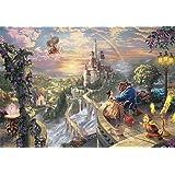 1000ピース ジグソーパズル 美女と野獣 Beauty and the Beast Falling in Love(51x73.5cm)