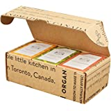 Crate 61 Citrus Soap 6-Pack Box Set, 100% Vegan Cold Process Bar Soap, scented with premium essential oils and natural flavor