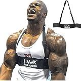 Hawk Sports Arm Blaster for Biceps & Triceps Dumbbells & Barbells Curls Muscle Builder Bicep Isolator for Big Arms Bodybuildi