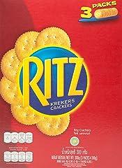 Ritz Crackers Biscuit, Box, 300g