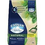 Catsan Natural Reduce Litter Box Odour Cat Litter, 8 Liter