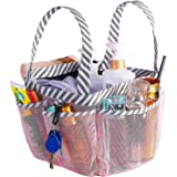 Haundry Portable Mesh Shower Caddy, 8 Basket Tote for Bathroom College Dorm, Large Shower Caddy Bag for Camping Gym