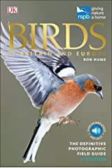 RSPB Birds of Britain and Europe Flexibound