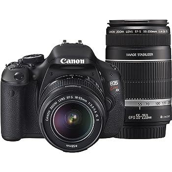 Canon デジタル一眼レフカメラ EOS Kiss X5 ダブルズームキット EF-S18-55mm/EF-S55-250mm付属 KISSX5-WKIT