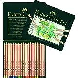 Faber-Castell Pitt Pastel Colour Pencils Tin of 24, (27-112124)