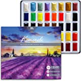 Komorebi Japanese Watercolor Paint Set- 40 Colors - MozArt Supplies