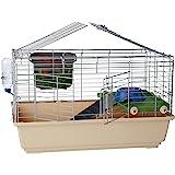 Amazonベーシック 小動物用ケージ 小屋 アクセサリー付き 81 x 56 x 46cm スタンダード