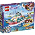 LEGO Friends Rescue Mission Boat 41381 Building Kit, Vehicle Toy for 7+ Year Old Boys and Girls, 2019