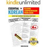 Essential Korean Reading Comprehension Workbook: Multi-Level Practice Sets With Over 500 Questions (Korean Study)