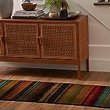 Mohawk Home New Wave Boho Stripe Runner Area Rug, 2'x5', Multi