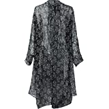 Vince Camuto Women's Ditsy Print Tie Front Kimono