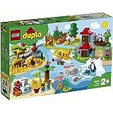 レゴ(LEGO) デュプロ 世界のどうぶつ 世界一周探検 10907 知育玩具 ブロック おもちゃ 女の子 男の子